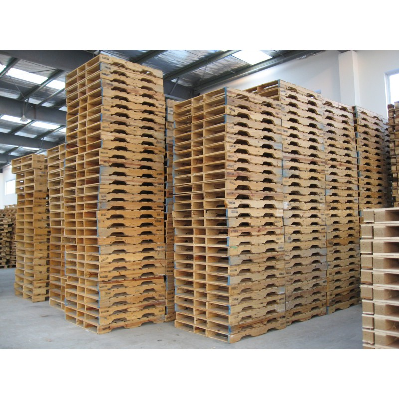 Recycled good condition wooden pallets