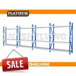 Four Bay Normal Duty Shelving