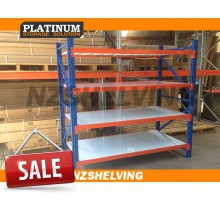 Extra Wide Single Bay Heavy Duty Shelving