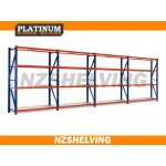 2.5m Tall Four Bay Heavy Duty Shelving