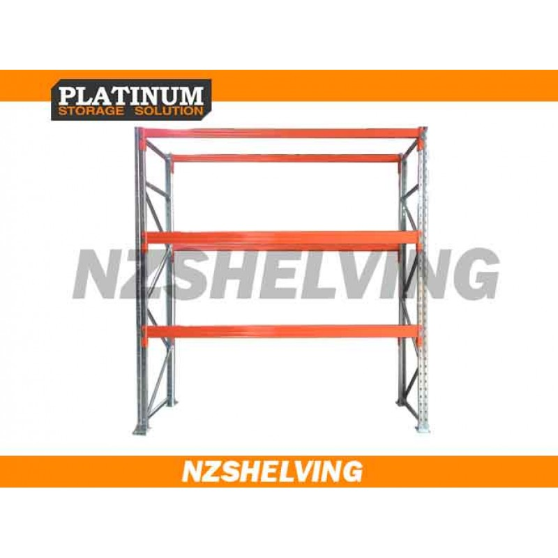 Single Bay 3.6M Pallet Racking
