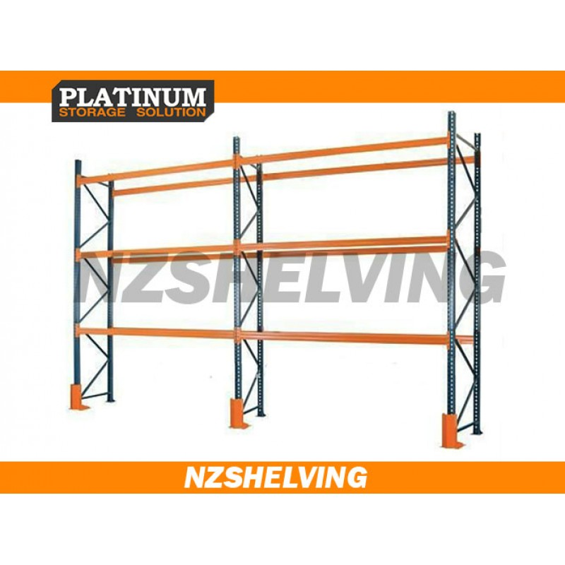 Double Bay 4.8M Pallet Racking