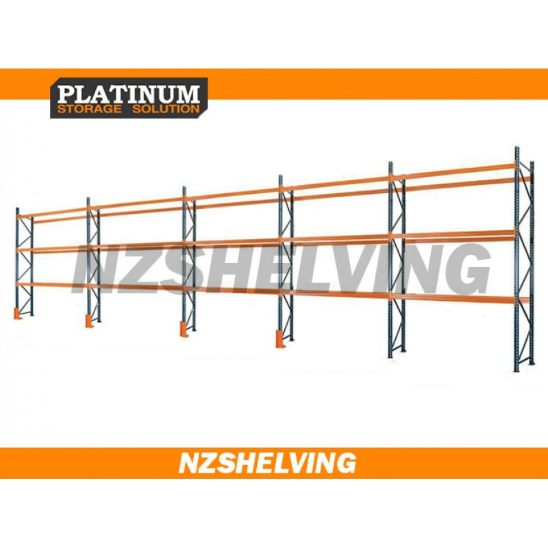 Five Bay 4.2M Pallet Racking