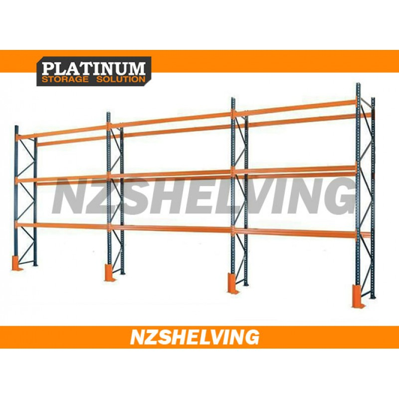 Triple Bay 4.2M Pallet Racking