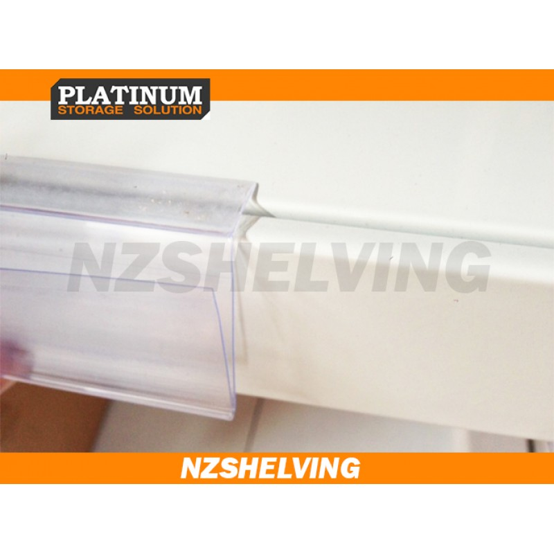 Shelf Strips, Adhesive label holder, Data Stripx10